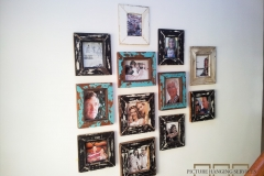 Collage Picture Hanging Service l11